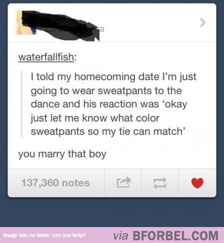 Marry That Boy…