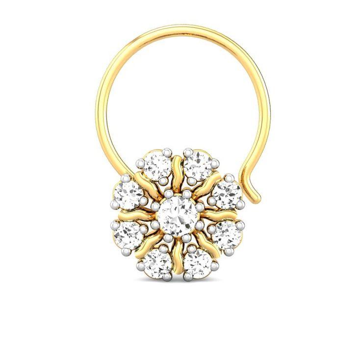Best 25+ Diamond nose ring ideas on Pinterest | Diamond ...