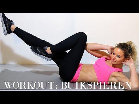 ▶ Workout: De beste oefeningen voor keiharde buikspieren - YouTube