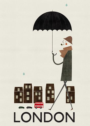 Illustrated Cities by Blanca Gómez http://www.sutkutusu.com/post/507985939/illustratedcities London travel places