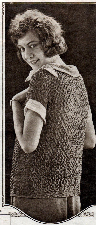 1920's Bestway Ladies Silk Jumpers Book Vintage by PamoolahVintage
