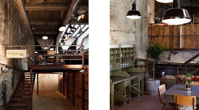 La Souppe Populaire |  Berlijn - Prenzlauer Berg | Restaurant in oude bierbrouwerij - http://lasoupepopulaire.de/