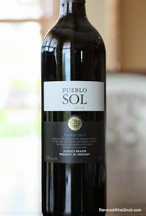 The Reverse Wine Snob: Tannat Tuesday! Pueblo del Sol Reserva 2012 - Easy to drink and delicious. From Juanico, Canelones, Uruguay. http://www.reversewinesnob.com/2013/10/pueblo-del-sol-reserva-tannat.html