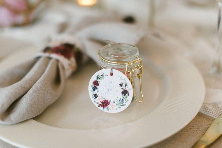 Gold Mini Glas (40ml) – Fräulein K. sagt ja Party-Shop   – Einladung & Co – Hochzeitspapeterie