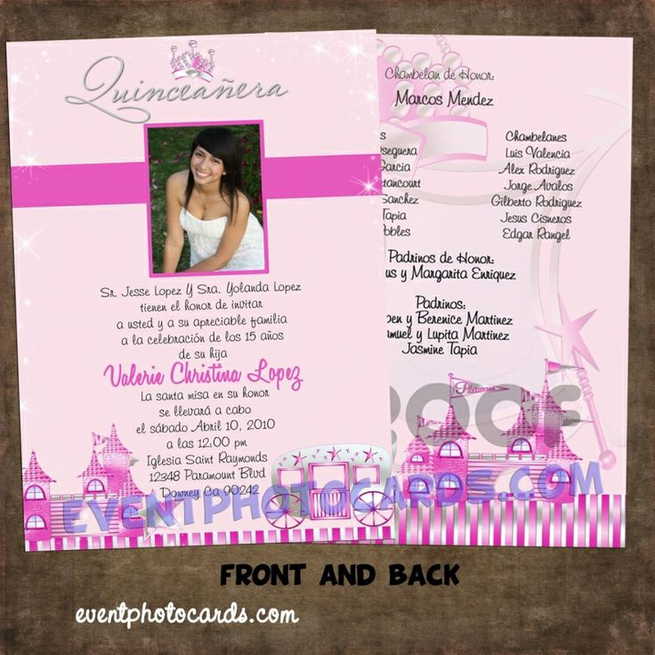 printable horse birthday party invitations free%0A Quinceanera Invitations Wording