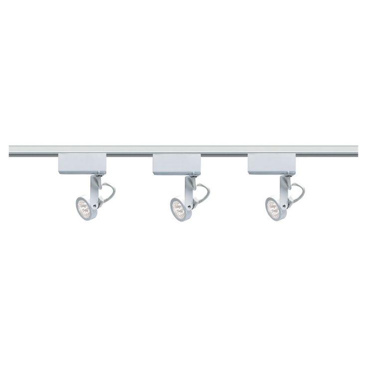 white track lighting. simple track nuvo tk31 gimbal ring track light white  tk314  lighting kits throughout