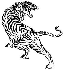 the tiger I want for my back tat