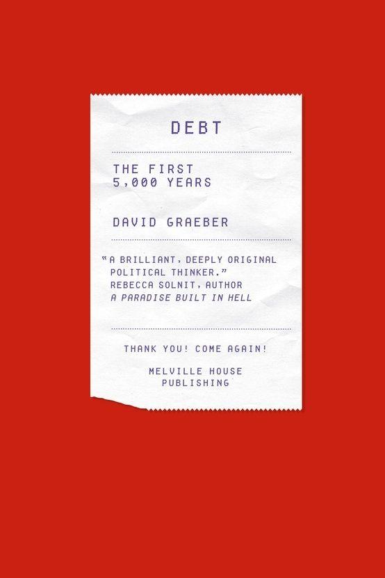 Debt by David Graeber — Designspiration