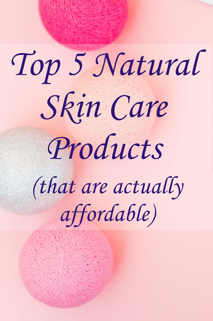 top non-toxic facial skin care products make skin glow