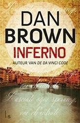 Inferno.Tien jaar na de fenomenale bestseller De Da Vinci Code verschijnt op 14 mei  Inferno, de langverwachte nieuwe thriller van Dan Brown, wederom met professor Robert Langdon in de hoofdrol.   http://www.bruna.nl/boeken/inferno-9789024561858