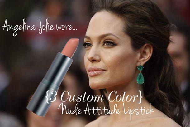 Angelina Jolie loves Nude Attitude Lipstick | Beautiful Hair ...