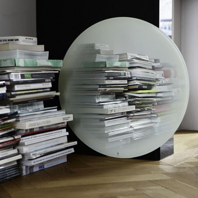 Eno Studio - White Fading mirror designed by Thomas Eurlings - Fading miroir blanc par Thomas Eurlings