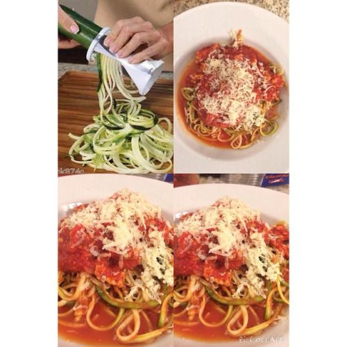 http://ift.tt/1CVcUWq   Recently I bought the Veggetti, a spiral vegetable cutter to make healthy spaghetti i made zuchinni pasta with turkey bolognese I recommend veggeti  so easy to use and you will save up to 700 calories by making healthy spaghetti. Whats better than a low calorie pasta? Real women have a veggetti #SizeIt #nomnom #foodphoto #gastrohr #healtyfood #cleaneating  #girlswhorun #strongnotskinny #veganlife #fitfam #veganfit #veganstrong #girlsthatlift #fitn..