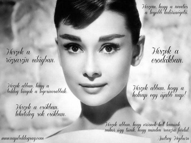 Audrey Hepburn idézet