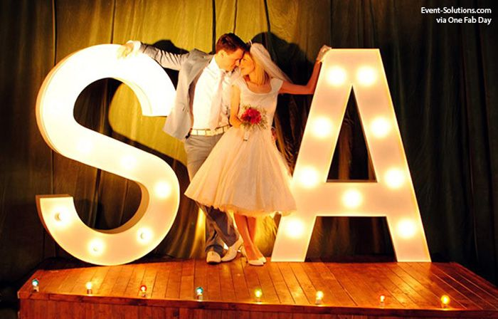 """From décor to themes to corporate event ideas, these five event trends are gaining steam in the new year. Discover what fun ideas are hot for 2014!  1. Marquee Signs Whether it's spelling out words like """"LOVE"""" and """"BAR"""" or exaggerating initials,"""