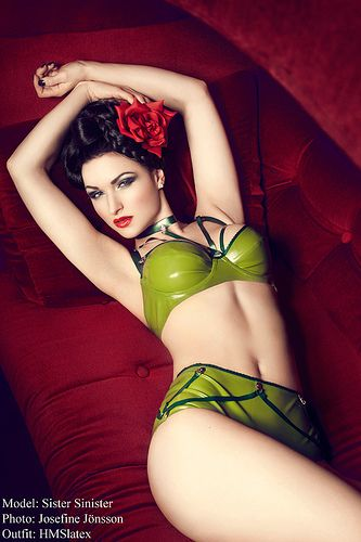 Sister Sinister | HMSlatex | green latex