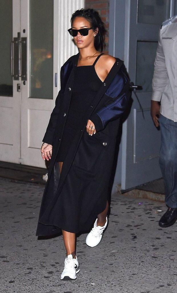 Rihanna street style 2014