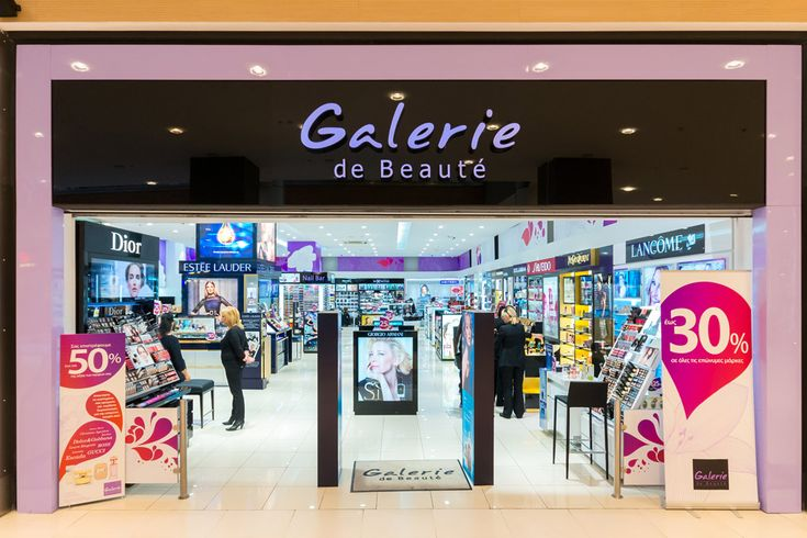 Galerie de Beaute | Cosmetics store design | The Mall | Athens | iidsk  |  Interior Design & Construction