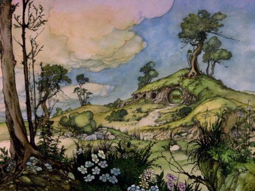 film the hobbit animation Hobbit animated movies Rankin Bass Hobbit Hole hobbit house the hobbit 1977