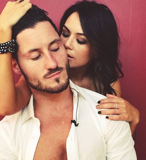 Val Chmerkovskiy and Janel Parrish - Dating, Gossip, News ...