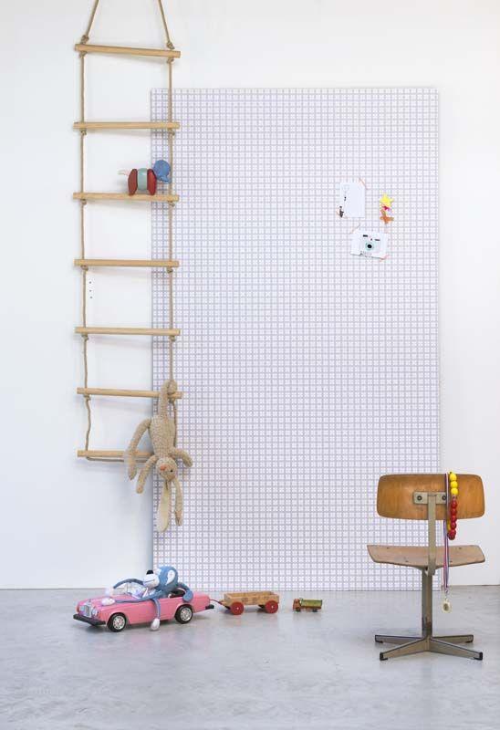 KARWEI | Klavertje grijs staat mooi in elke kamer. #kinderkamer #wooninspiratie #karwei