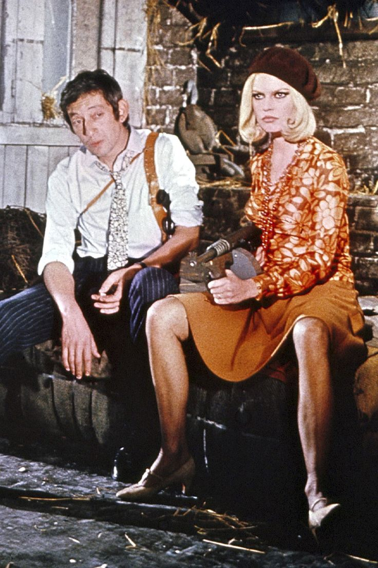 Brigitte Bardot &a Serge Gainsbourg, Bonnie and Clyde music video