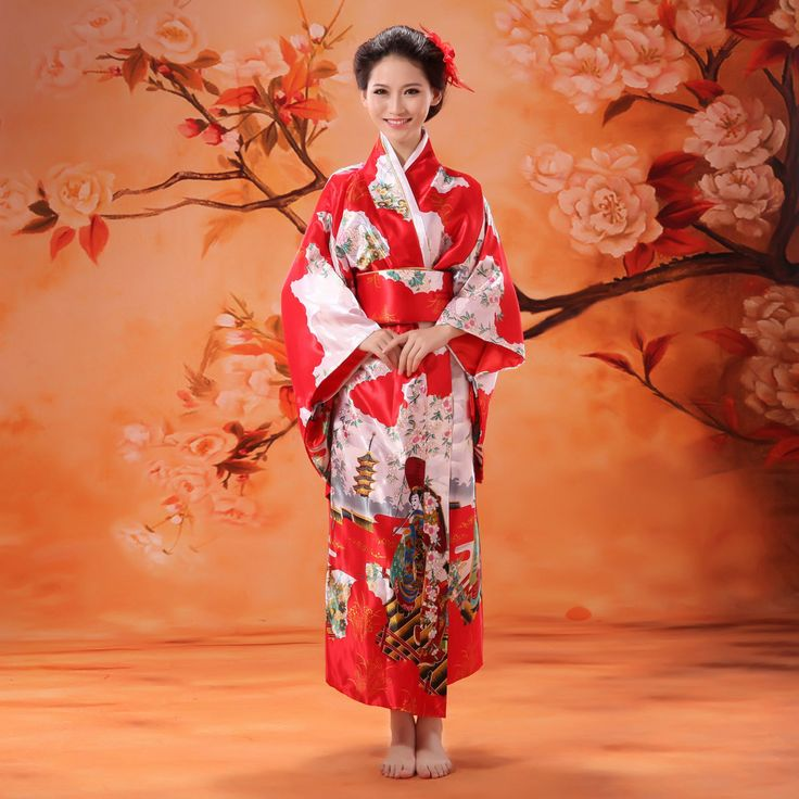 Traditional Chinese Kimono dress - Le maniche larghe simboleggiano la generosità.