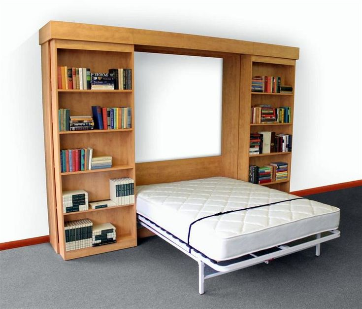 Next bed murphy system with optional library bed hardware cabinet foldaway beds pinterest - Pinterest murphy bed ...