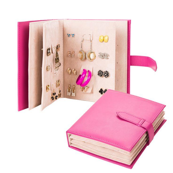 Купить товар2015 принцесса серьги Horder организатор искусственная кожа ювелирных изделий стенд для сережек книга дисплей стойки в категории Упаковка ювелирных изделийна AliExpress. Big Casket For Jewelry Fashion Crocodile Leather Jewelry Box Large Exquisite Jewelry OrganizerUSD 35.83/piece2015Fashion