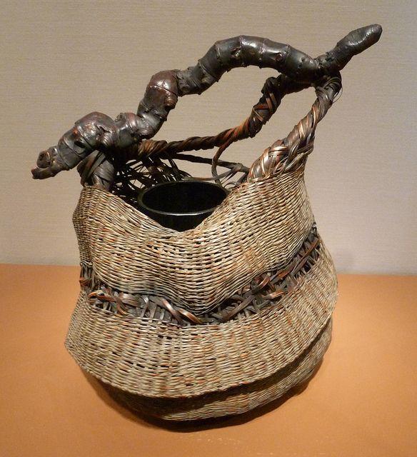 Japanese basket | Asian Art Museum  San Francisco  5 February 2012.  Designer details not provided.