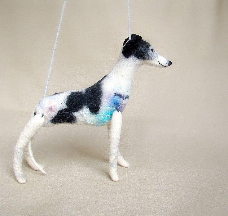 greyhound stuffed animal
