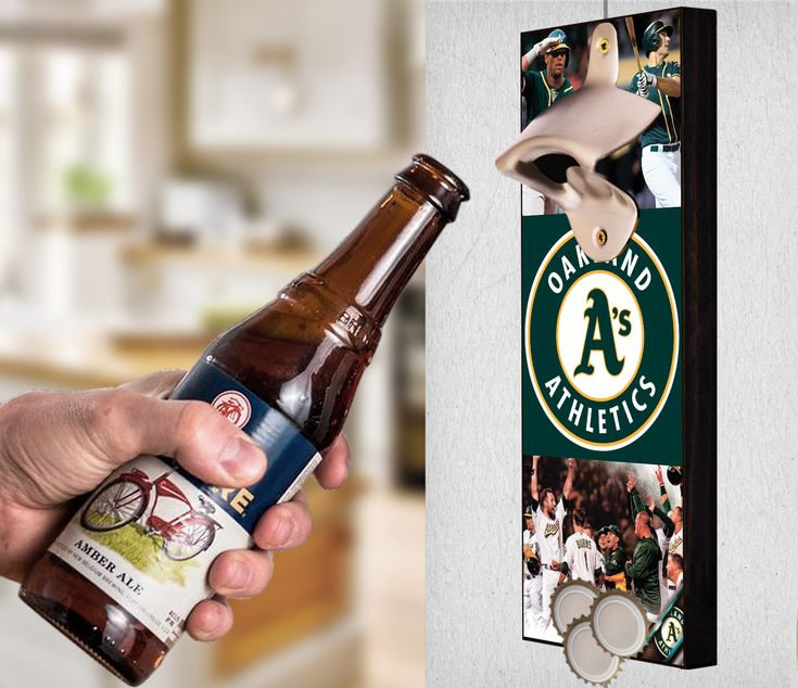 This Oakland Athletics bottle opener can be a great gift to any sports fan. It's the perfect addition to any man cave, bar area, kitchen, or to just put out while watching the big game. It is also a great groomsmen gift. Oakland Athletics Wall Mount Bottle Opener Oakland Athletics Cap Catcher Oakland Athletics Wall Opener Oakland Athletics Beer Opener Oakland Athletics Wall Art Oakland Athletics Craft Oakland Athletics Decor Oakland Athletics Gift Oakland Athletics Diy Oakland Athletics Art