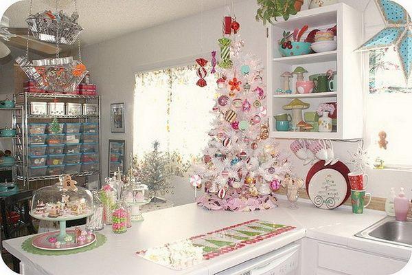 arbol de navidad para cocina