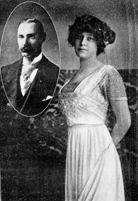 Colonel John J. Astor (inset) was returning from a trip to Egypt with his 19 year old bride, Madelein. He was one of the richest men in the world. She survived. He did not.