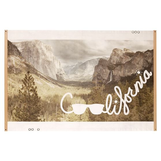 Coolifornia Wall Mural | PBteen