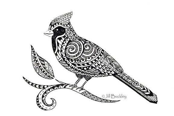 Beautiful doodles - zentangles