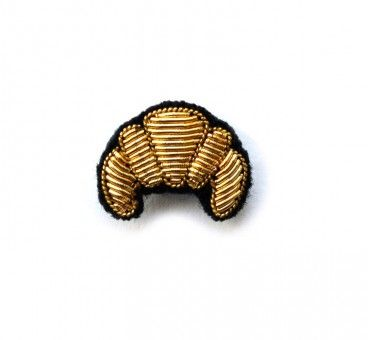 // croissant brooch, Macon & Lesquoy
