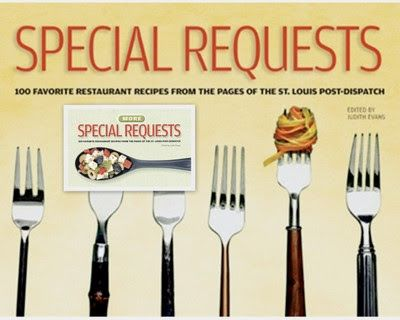 Composite of Special Requests cookbooks from the St. Louis Post-Dispatch