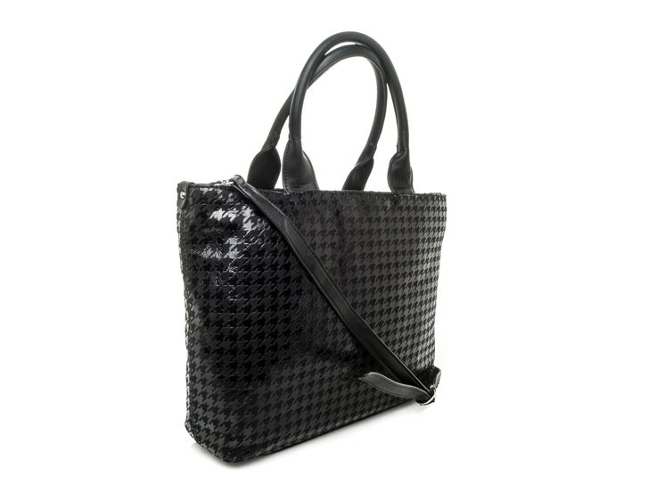 PINKO - Borsa Velluto Verniciato  - nero - Elsa-boutique.it <3 #Pinko