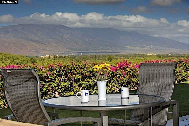 Quam Properties also provides Maui Residents with Real Estate opportunities like this Residental Condo home in Phase II of Hokulani Golf Villas. A prime location on a corner lot with panoramic Ocean and Mountain Views overlooking the 10th hole of the Maui Nui Golf Course. #Hawaii #maui #kapalua #vacationrental #familyvacation #islandlife