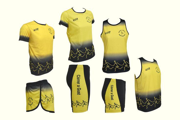 Covert Sport - Ropa Deportiva Personalizada Runner -  Equipaciones Córrer a Gust - Bellreguard