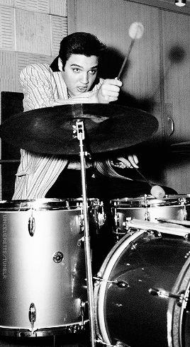recording session for Jailhouse Rock, Radio Recorders, California, April 30, 1957