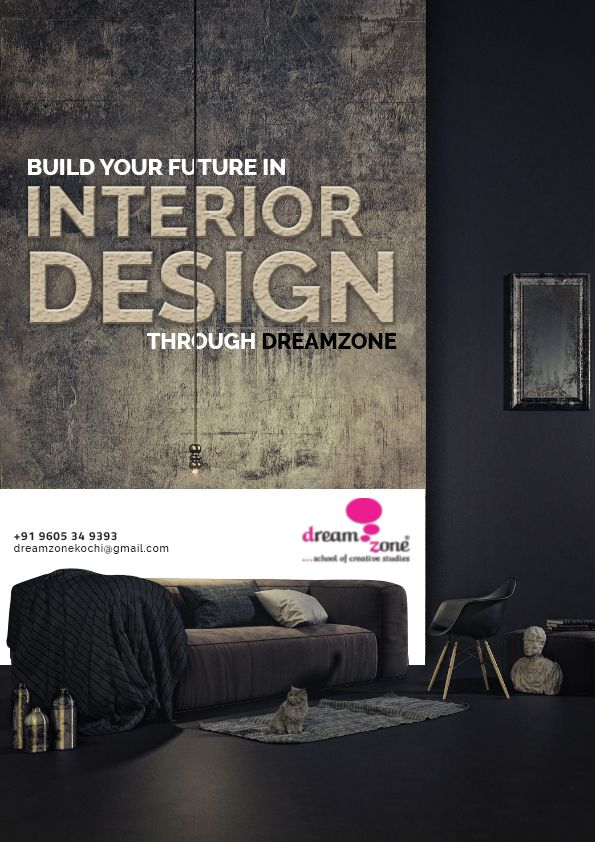 At Dreamzone S School Of Interior Design We Equip Our Students To