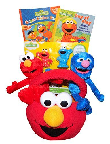 39 best best gift ideas and gift baskets for kids adults images sesame street elmo learning is fun toddler gift basket perfect for easter birthdays christmas or other occasion negle Gallery