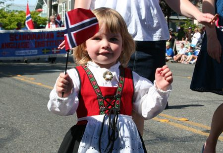 NORWAY:  Syttende Mai Parade celebrates the day in 1814 when Norway's constitution was signed.