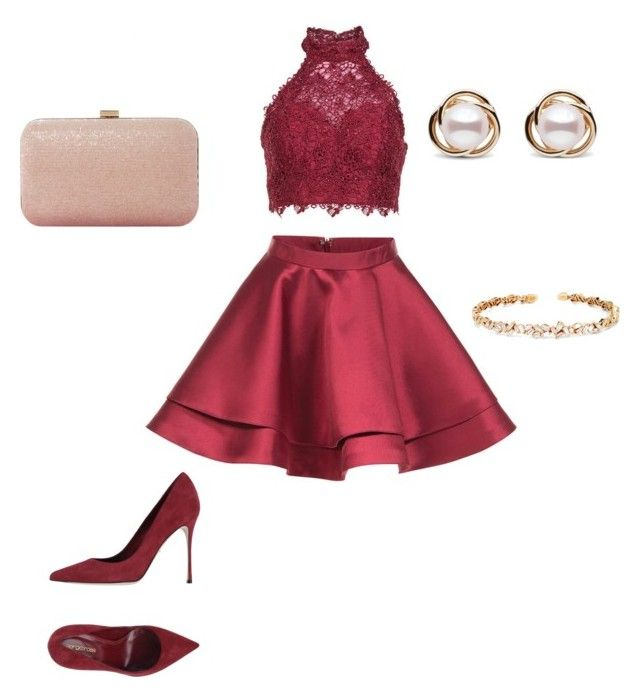 """""""Untitled #25"""" by sarii-syafitri on Polyvore featuring Alyce Paris, Dune, Sergio Rossi, Suzanne Kalan and Trilogy"""