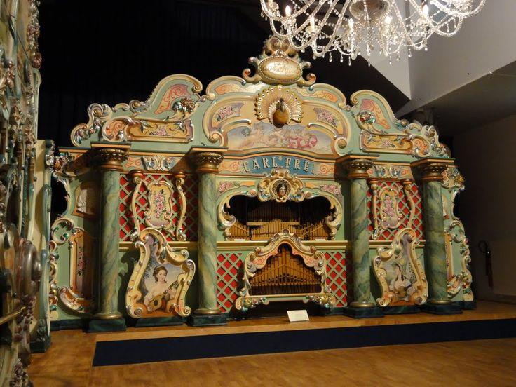 Dance organ build by Carl Frei. Museum 'Speelklok tot Pierement', Utrecht.