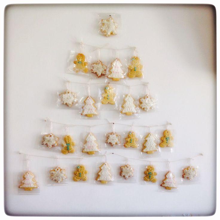 Arbol Navidad galletas jengibre
