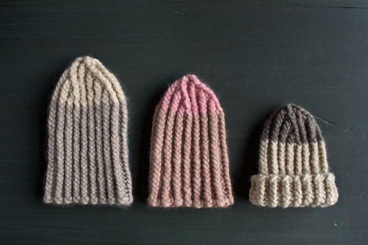giant twisted rib hat : : purl bee