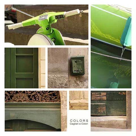 Progetto Colors_Cagliari a colori *VERDE